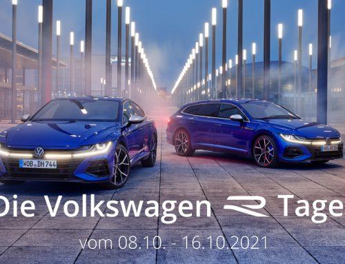 Exklusiv bei uns: Die VW R-Modelle Probe fahren
